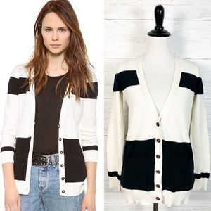 Madewell • Inlet Colorblock Button Down Cardigan S